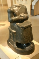 Architect with a Plan and Gudea prince of Lagash