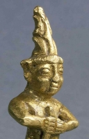 Figurine of a Hittite God in the Louvre Museum