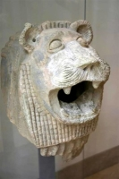 Lion passant at the Louvre Museum