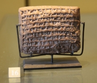 Contract in Babylonian and biblical chronology