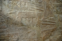 Transport timber Cedar of Lebanon, reliefs ot the Louvre Museum