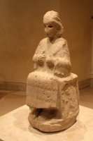Statue of the Goddess Narundi in the Louvre Museum